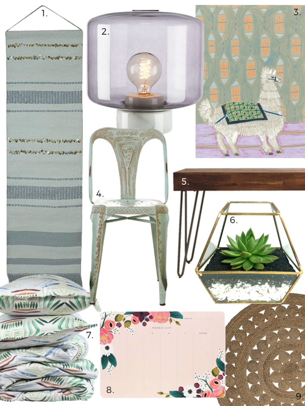 Best Bohemian Design Finds for Dorm Rooms