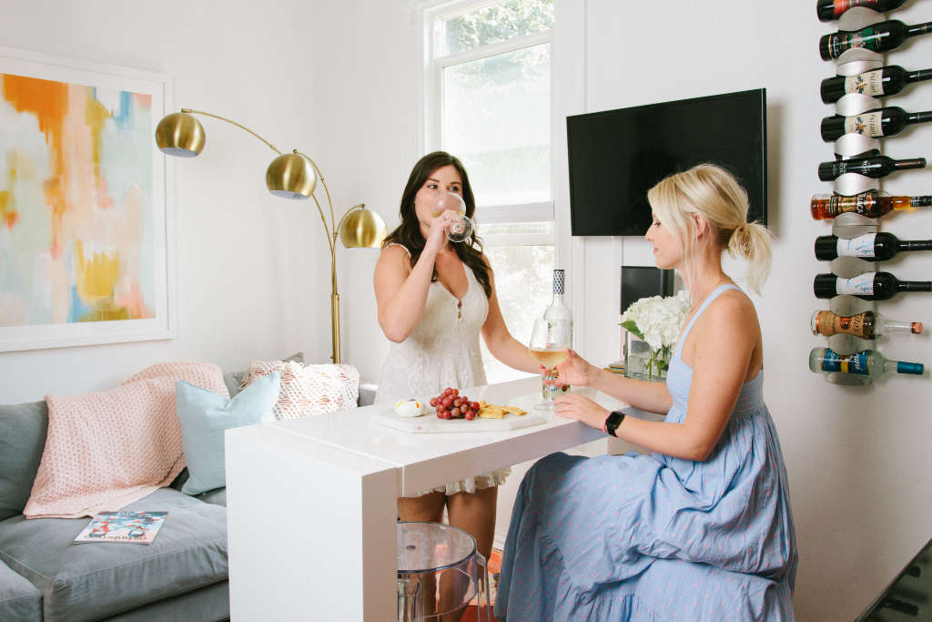 This Chic 406-Square-Foot Tiny Rental Feels Much Larger