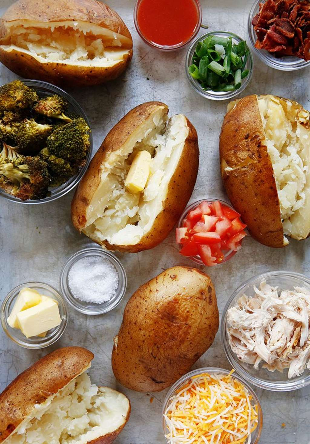 Dinner for a Crowd: Slow-Cooker Baked Potato Bar