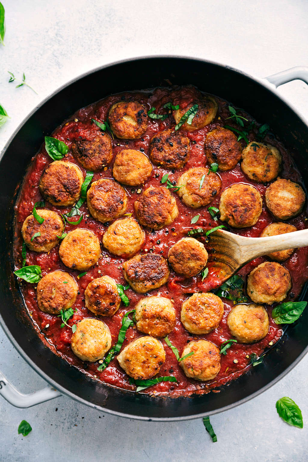 These Mini Chicken Parm Meatballs Are Cute and Delicious