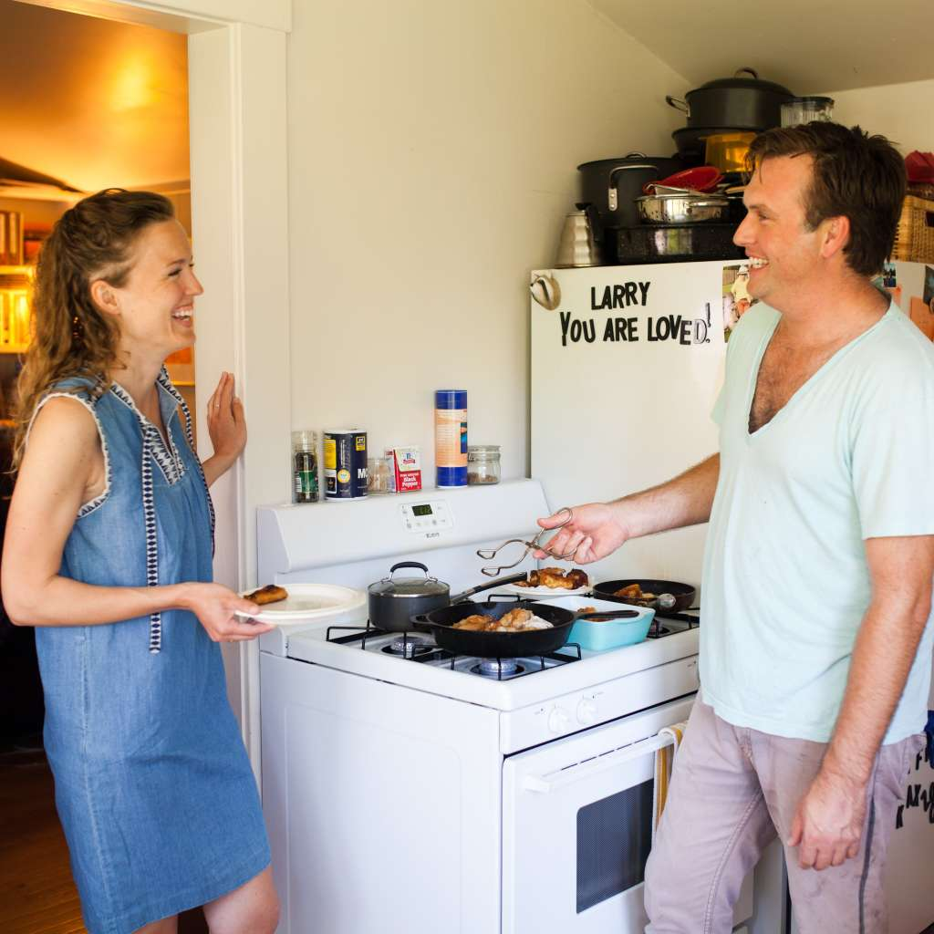 Patrick And Courtney's Tiny, Sunny Kitchen