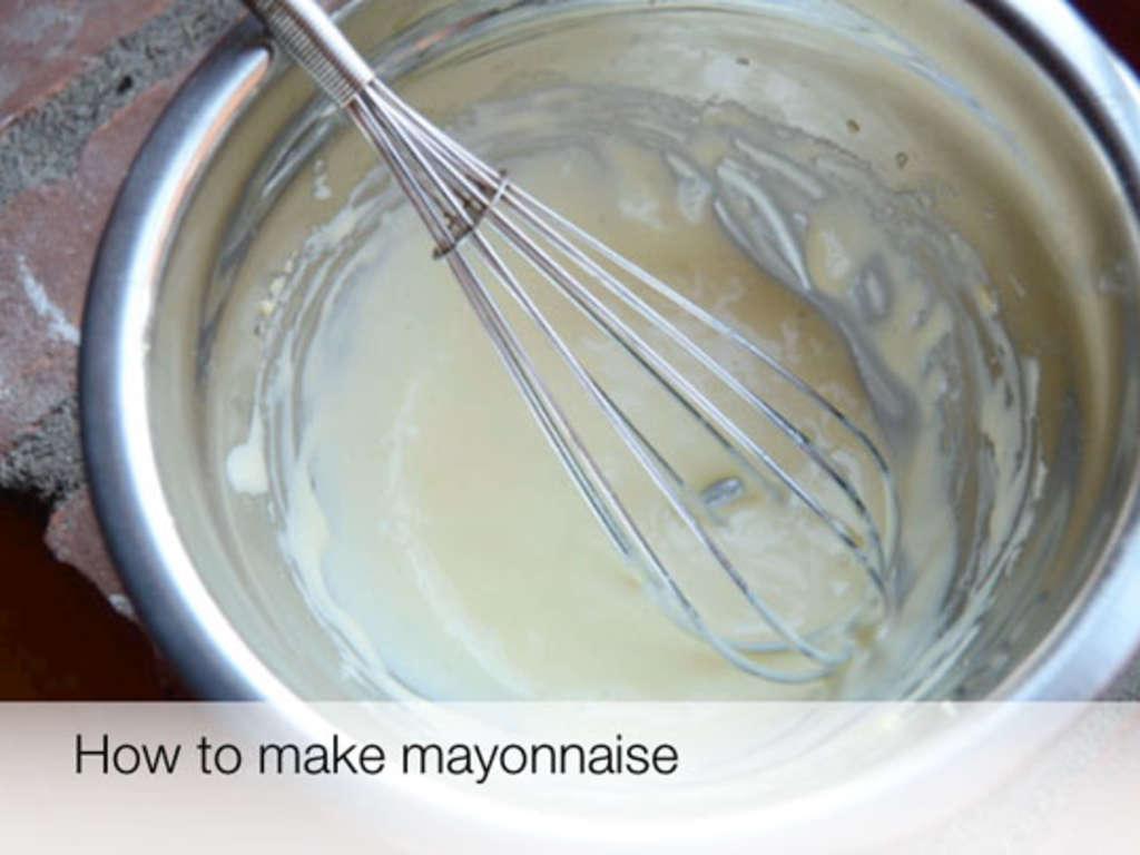 how to make mayonnaise youtube