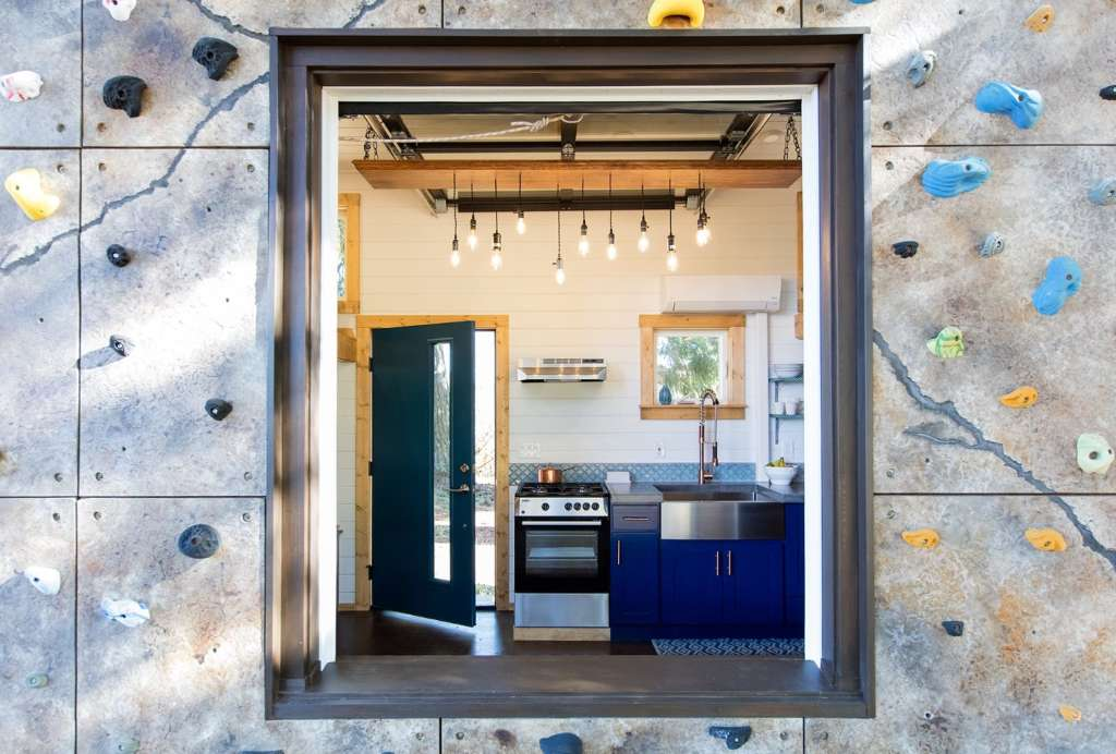 The Tiny House That's Unlike Any Tiny House We've Seen