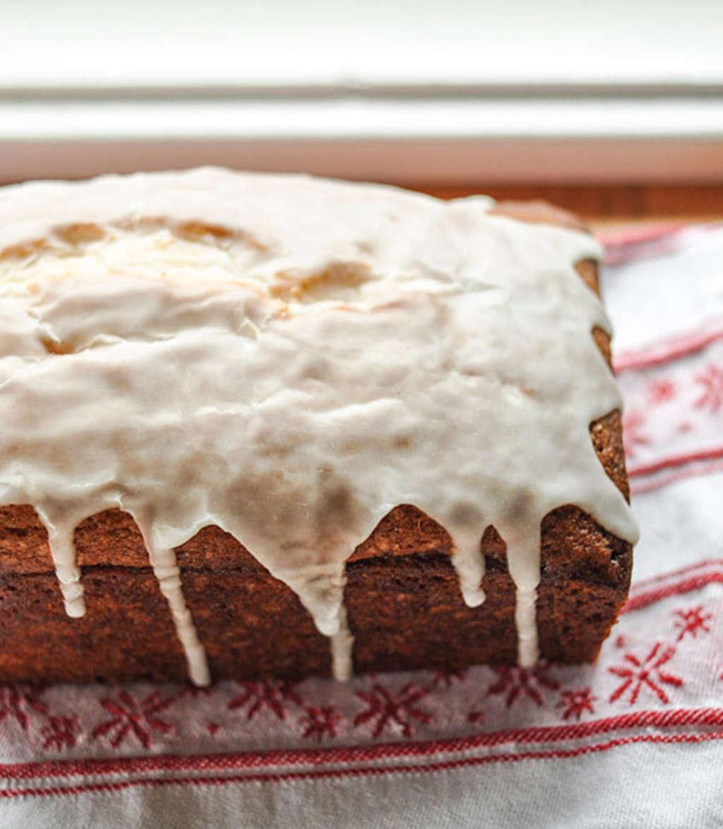 Winter Recipe: Whipped Eggnog Loaf Cake
