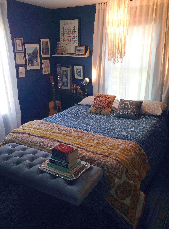 """Pratika's """"Bright Eclectic"""" Room"""