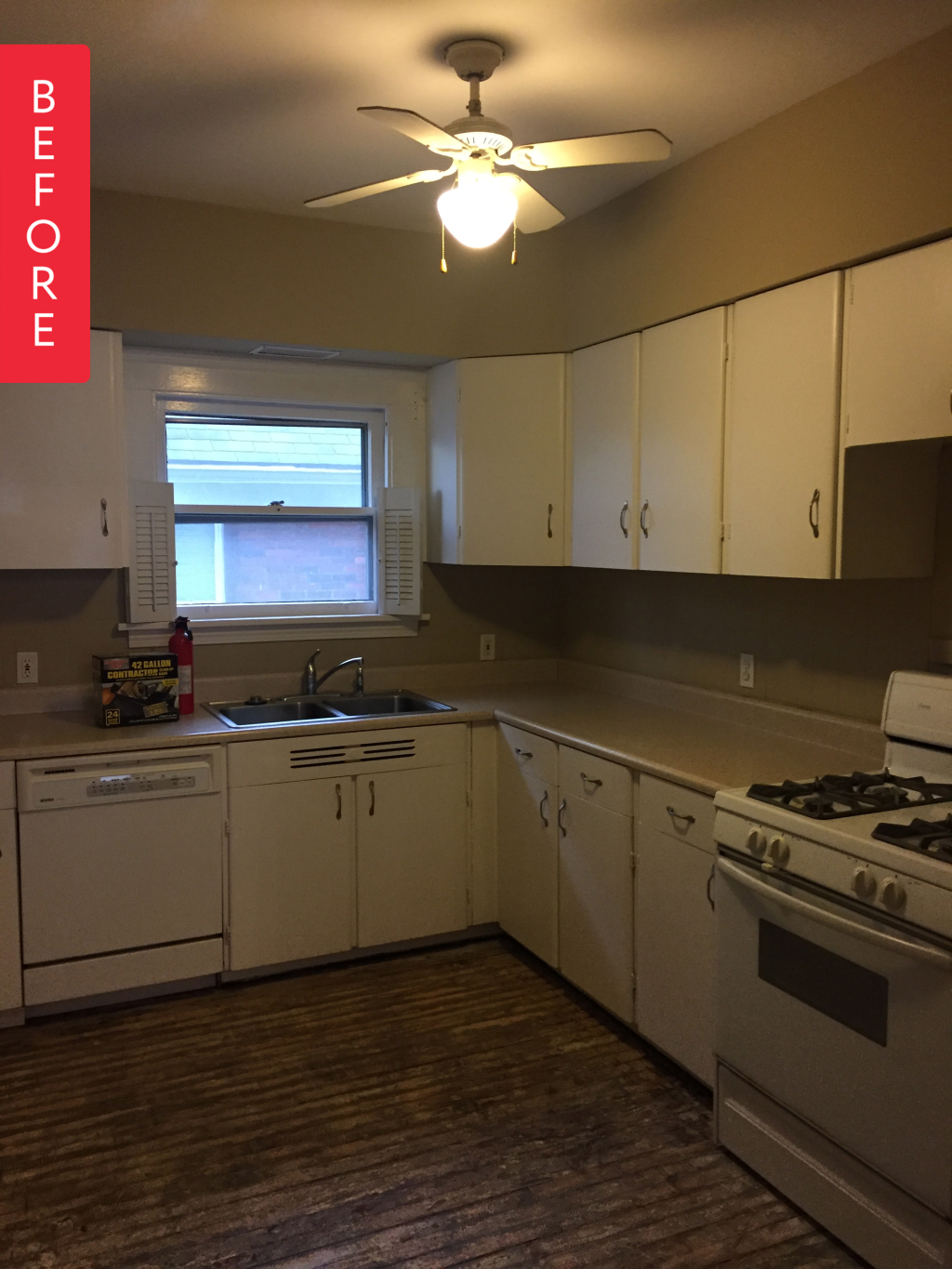 Before & After: A 1920s Kitchen Gets a Clean & Classic Upgrade