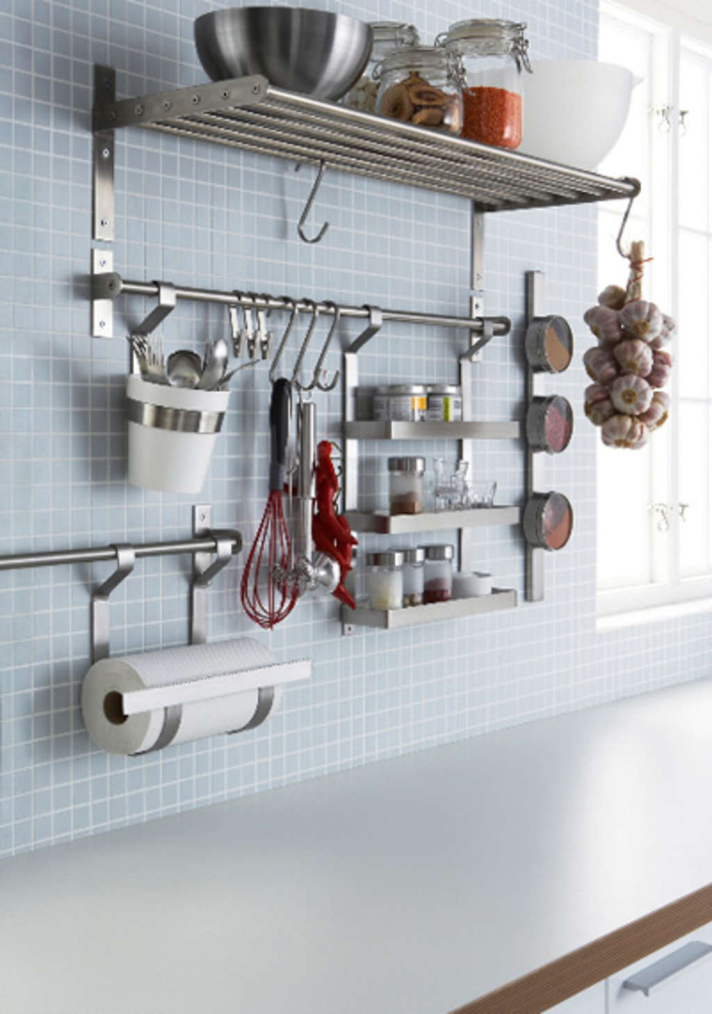 Win this GRUNDTAL Wall Organizer System from IKEA! | Kitchn