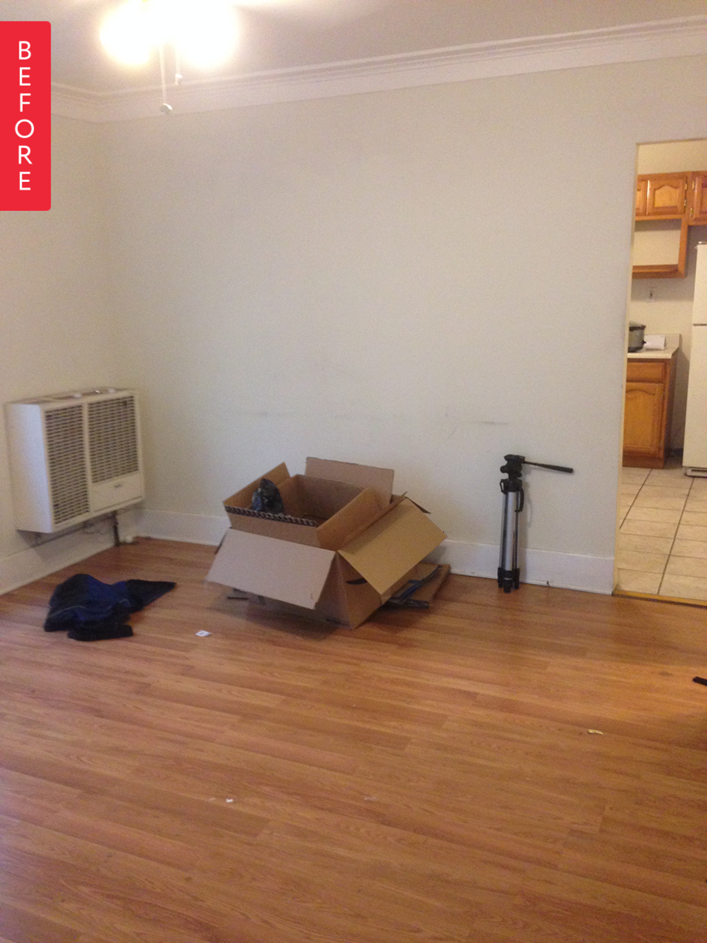 Before & After: A Dingy Apartment Gets Some L.A. Style