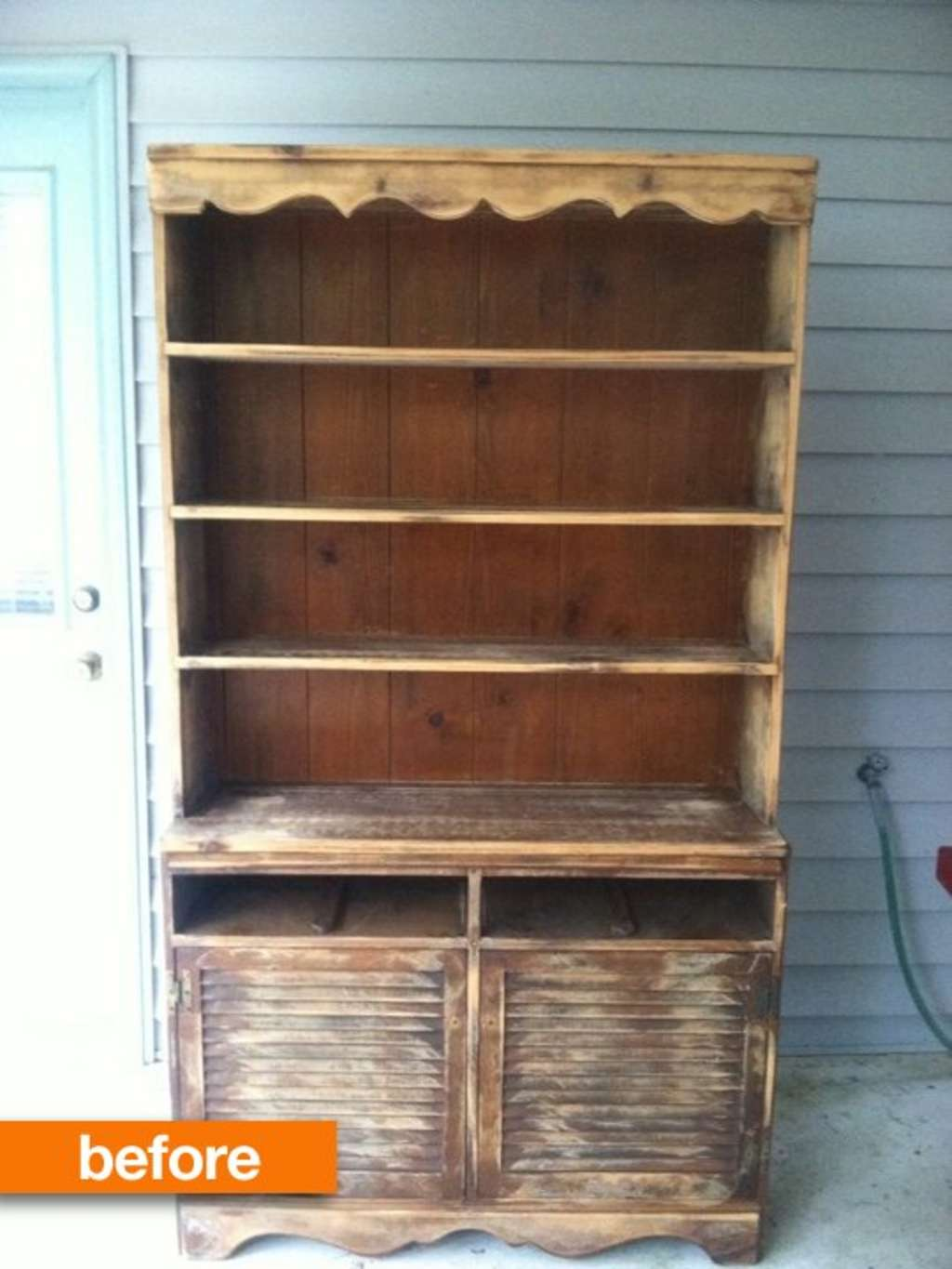 Before & After: A Crusty Cabinet Gets a Marine-Inspired Makeover