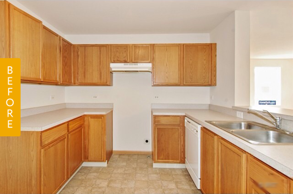 Where Your Money Goes In A Kitchen Remodel: Before & After: A Builder-Basic Kitchen Goes Glam