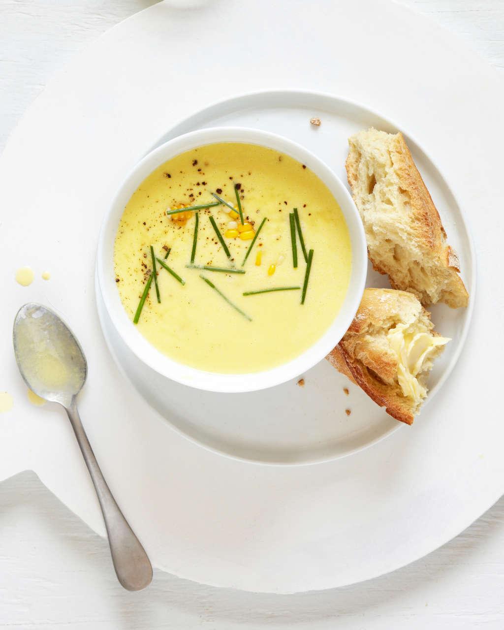 Recipe: Truffled Corn Soup