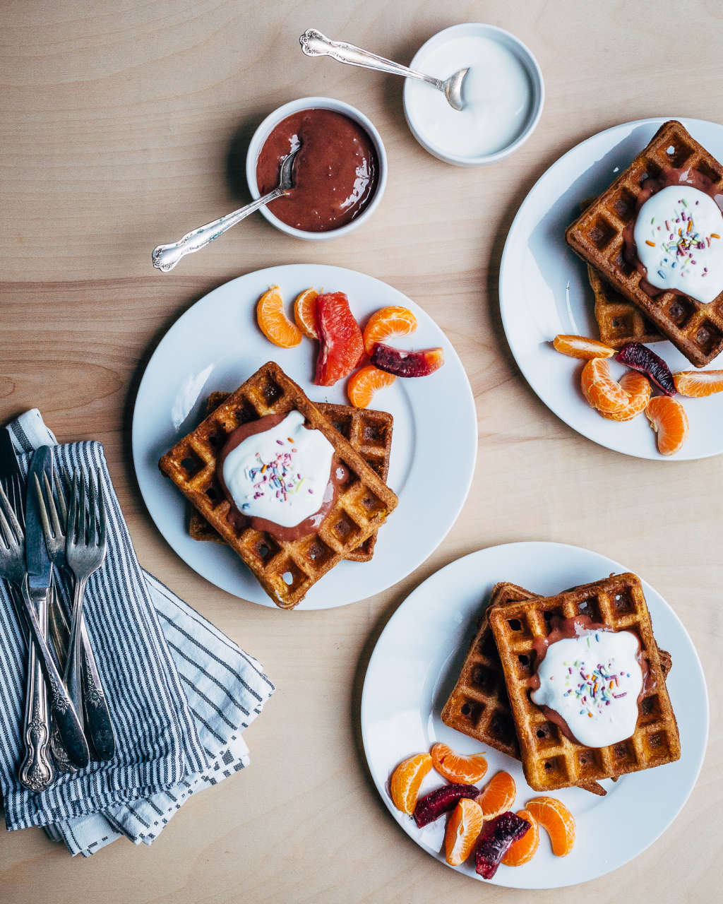 These Make-Ahead Waffles Are Great for Brunch