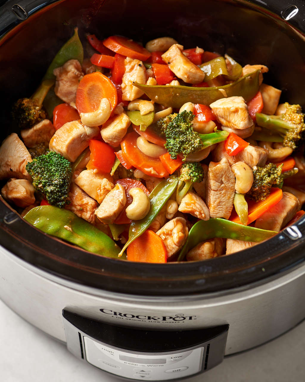 Make This Easy Cashew Chicken in Your Slow Cooker