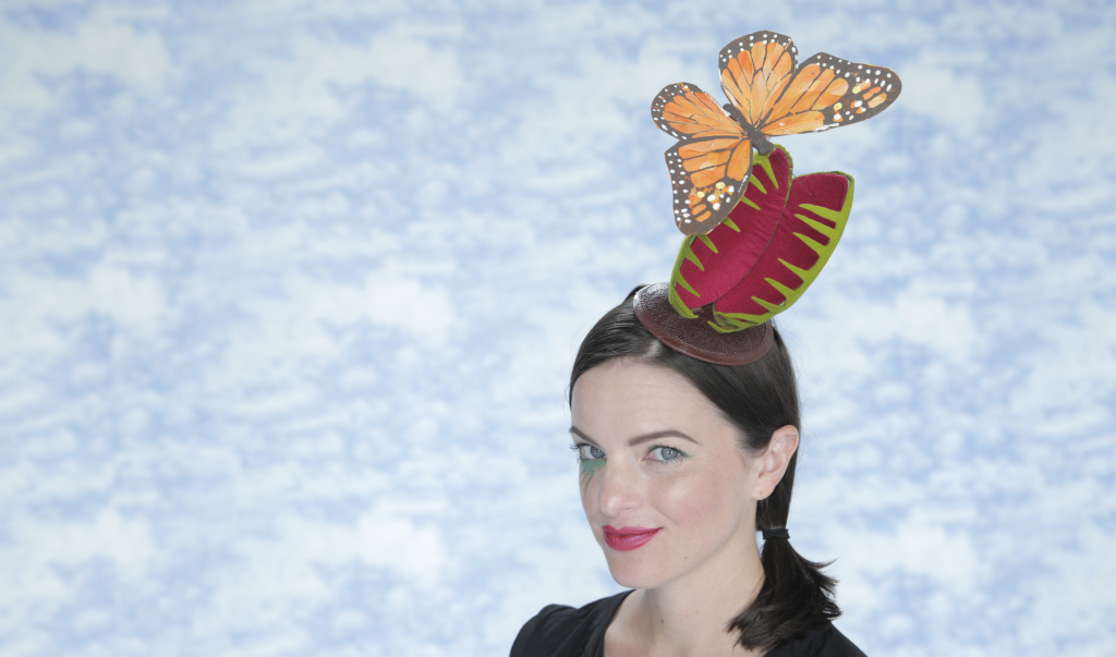 DIY Halloween Costume: Venus Flytrap Fascinator