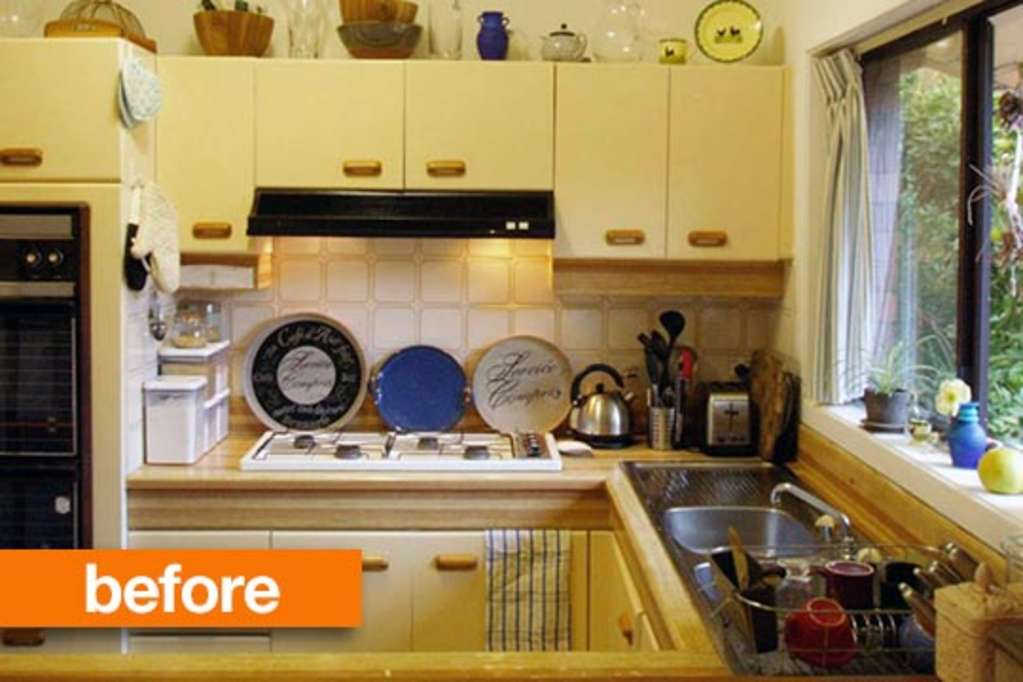 Budget Before & After: 1980s Kitchen Ditches Its Dated Past