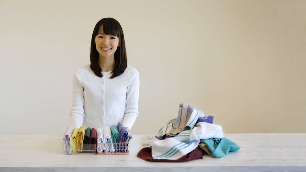 """""""Tidying Up"""" the New Year with Marie Kondo"""