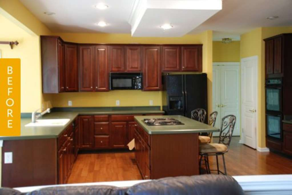 Creating A Kitchen For Entertaining: Before & After: Denise's New Old World Kitchen For