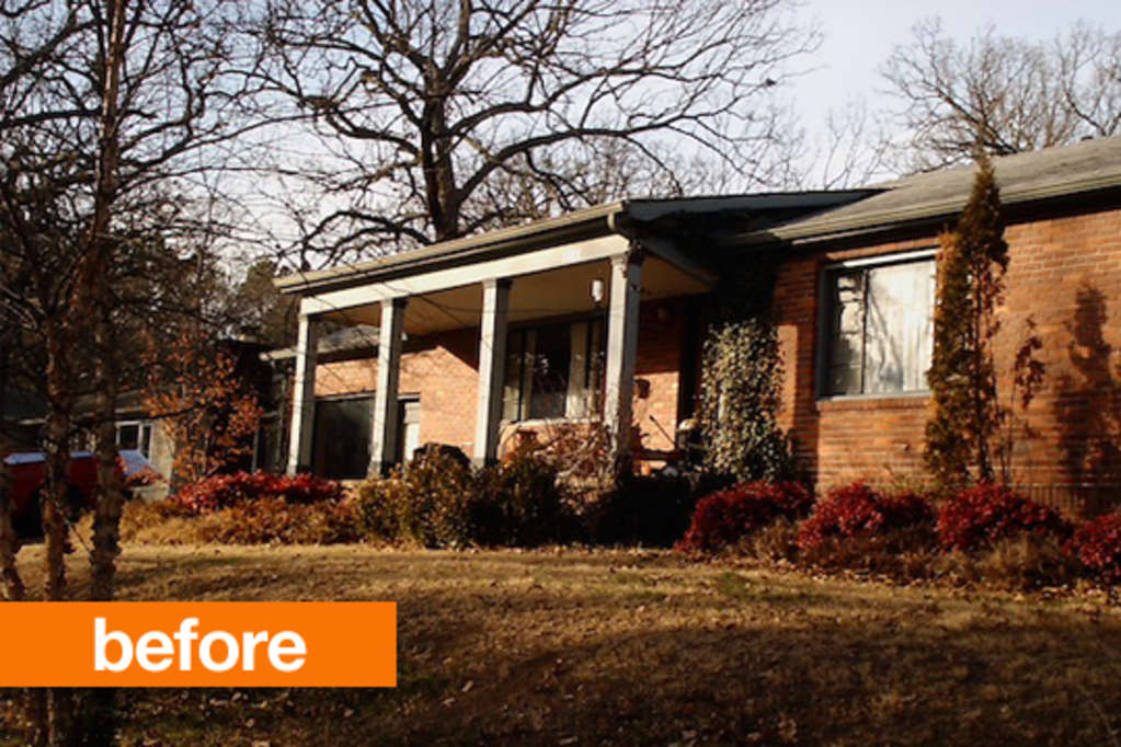 Before & After: A Dated Abode Gets Some Crazy Good Curb Appeal