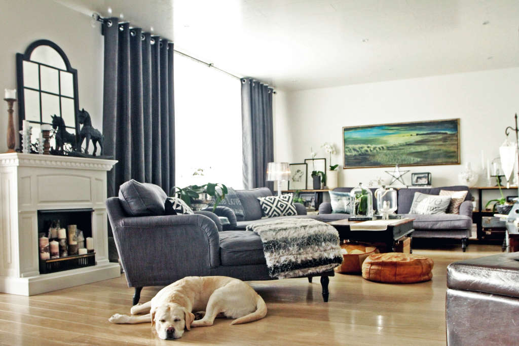 Tour an Industrial Farmhouse Style Home in Iceland