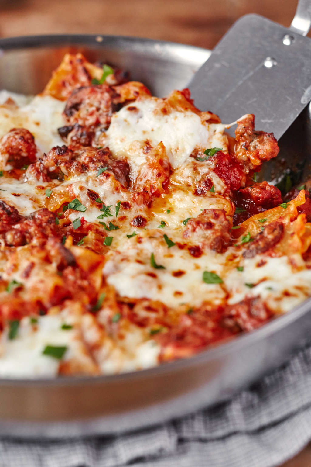 This One-Skillet Lasagna Will Win Any Weeknight