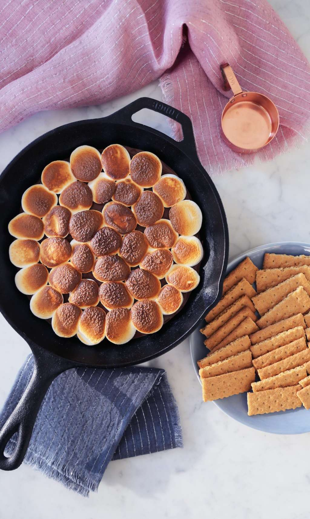 These Nutella Skillet S'mores Only Need 3 Ingredients