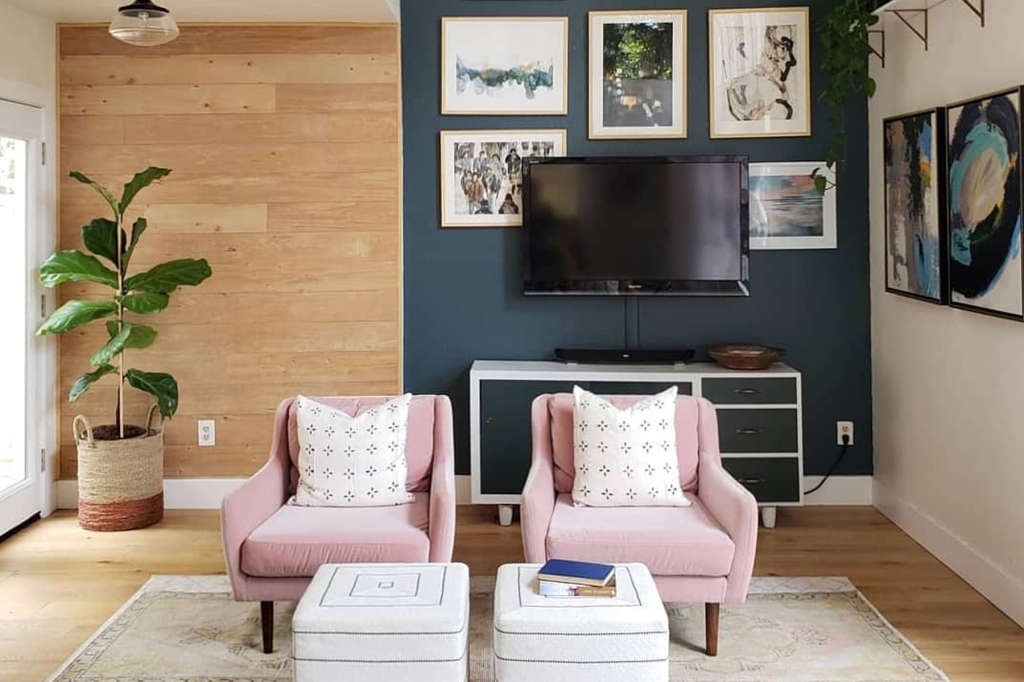 Living Room Decorating Ideas That Only Take One Hour Apartment Therapy