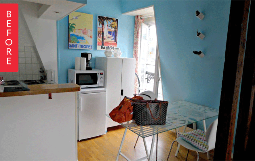 Before & After: Big Changes for a Tiny Paris Apartment