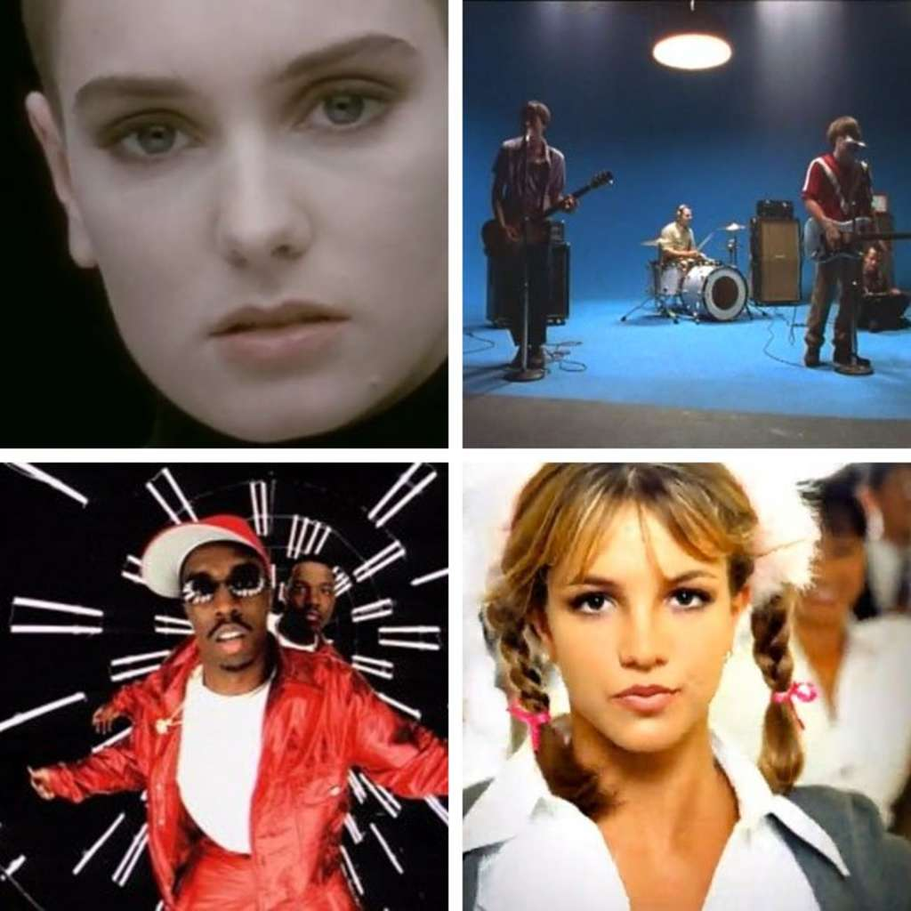 Design Time Capsule: The '90s in Music Videos