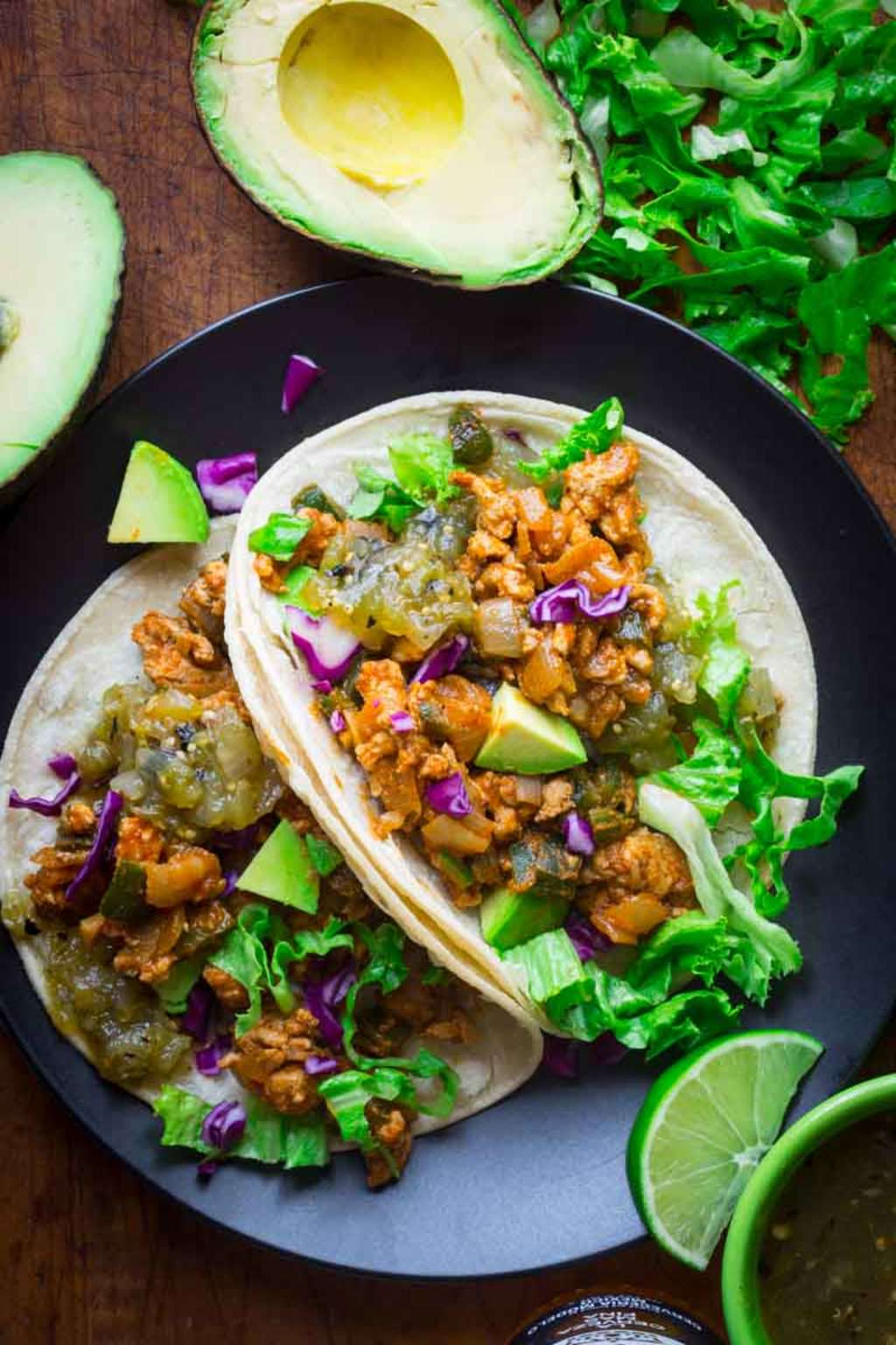 These Easy Chicken Tacos Come Together in 20 Minutes