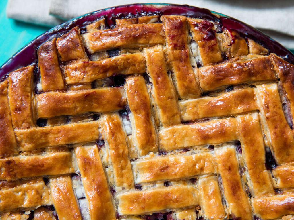 This Herringbone Lattice Pie Crust Is a Buttery Masterpiece