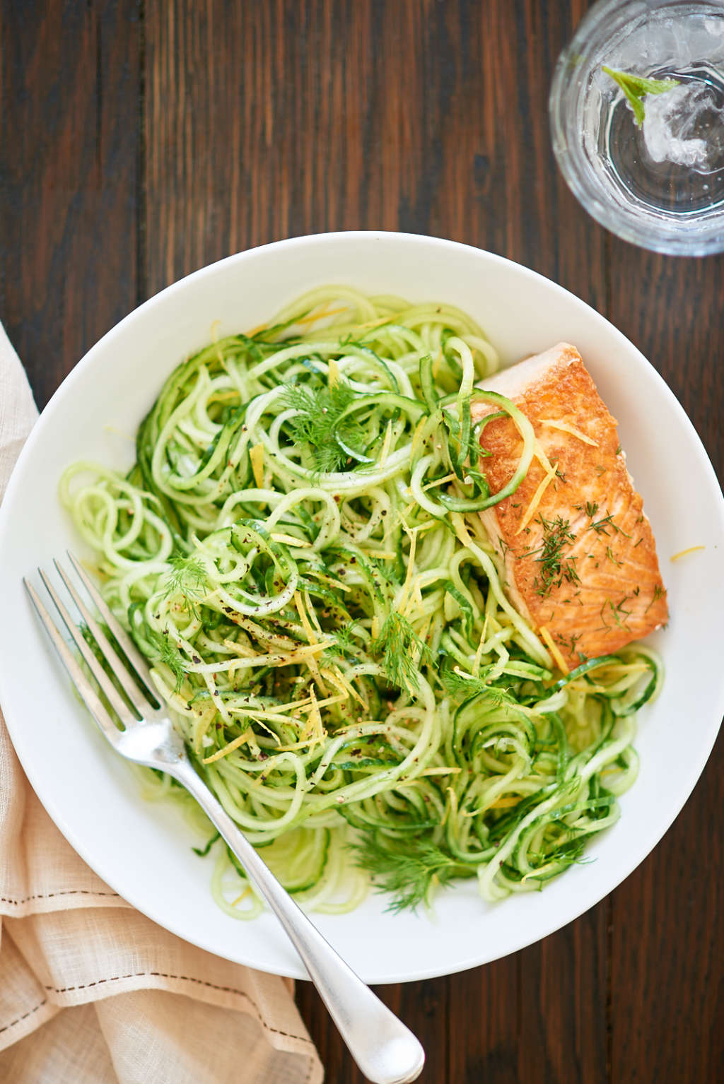 Stay Cool with This Lemon-Dill Cucumber Noodle Salad