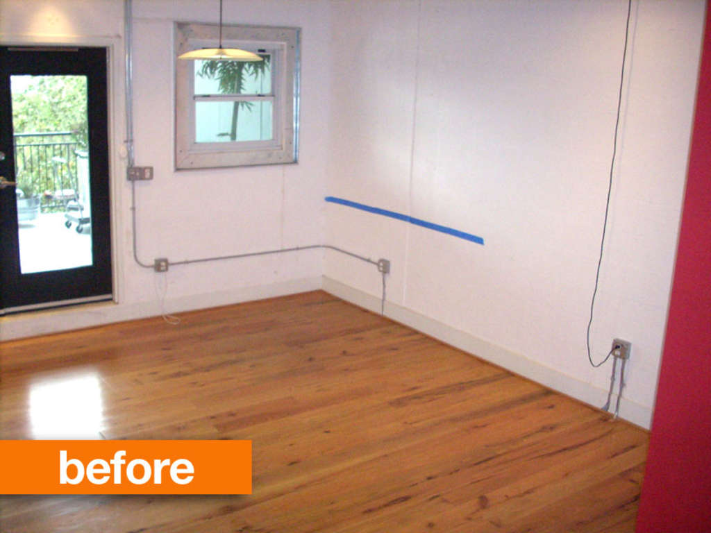 Before & After: A Novelist's Home Office Takes a Step Up