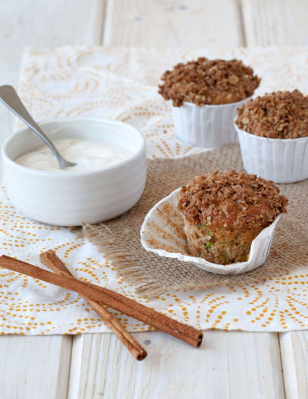 Make Apple-Zucchini Muffins for a Quick Breakfast