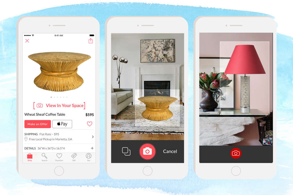 Vintage Resale Site Chairish Launches Augmented Reality Feature