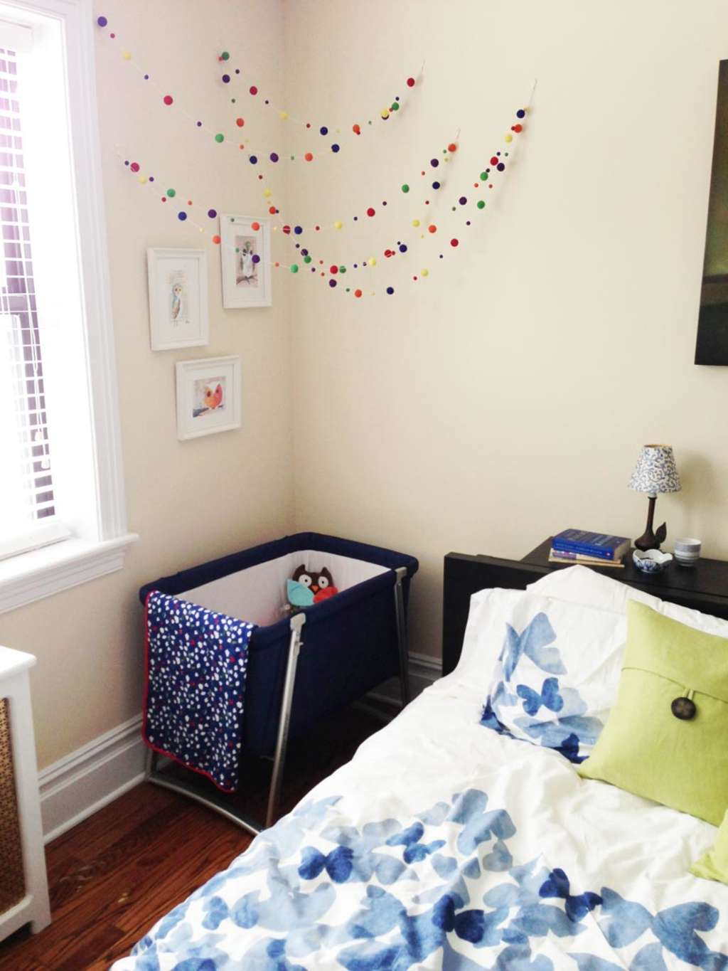 Raising A Baby In One Bedroom Apartment: Emily's Nursery Nook In The Bedroom