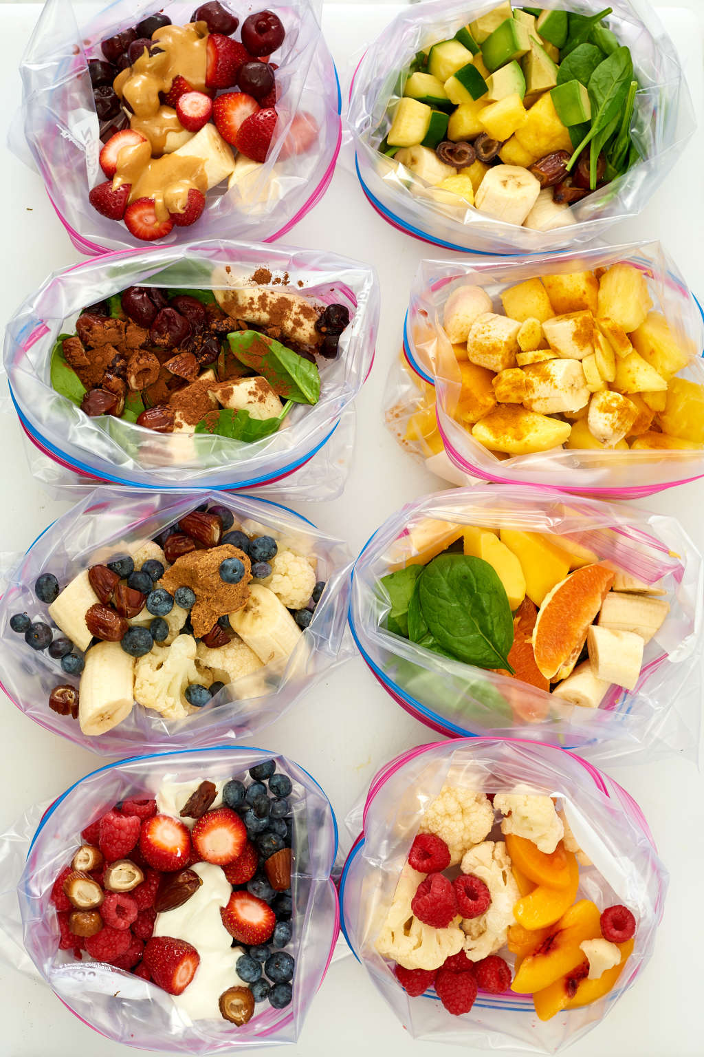 How to Make 5 Days of Smoothies in 15 Minutes
