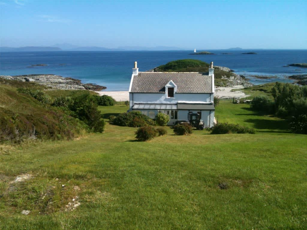 This Charming Scottish Beach House Is For Sale