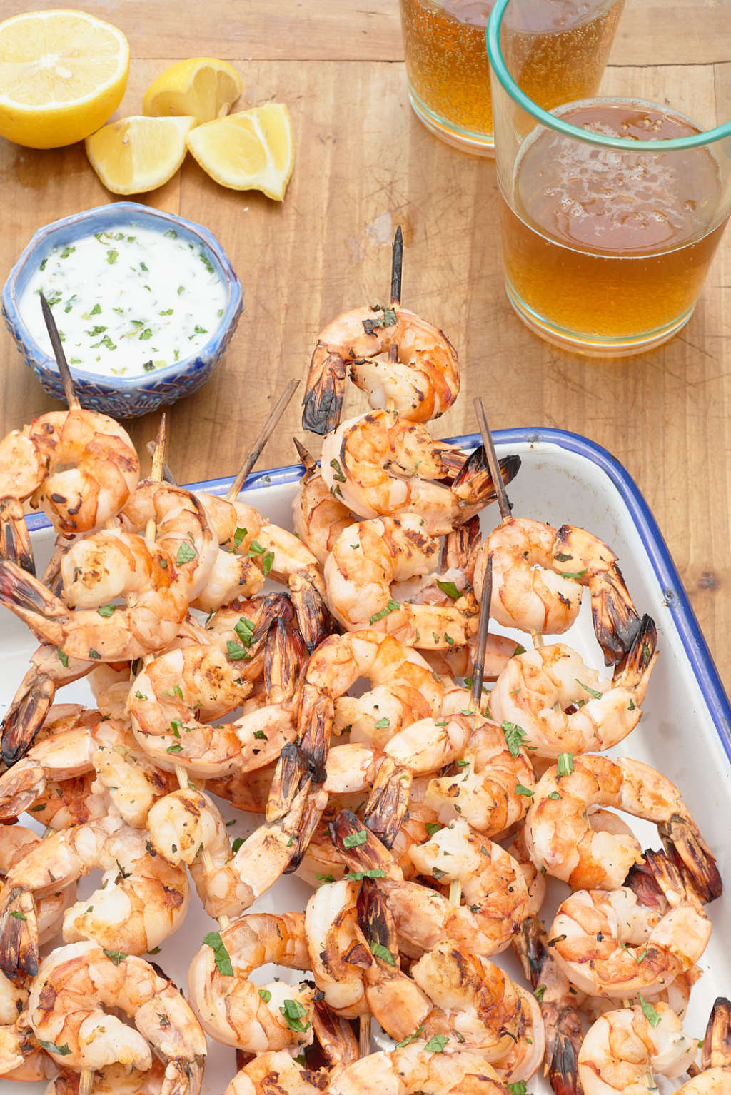 Can You Guess the Trick to Making the Best Grilled Shrimp?