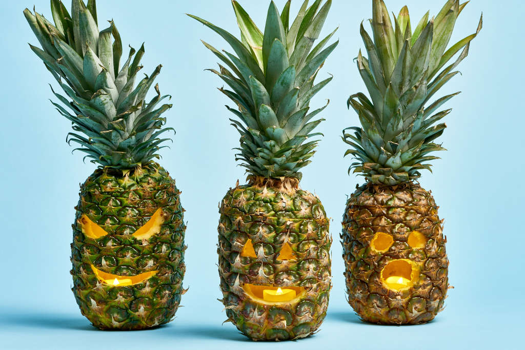 You Should Carve Pineapples for Halloween — Not Pumpkins