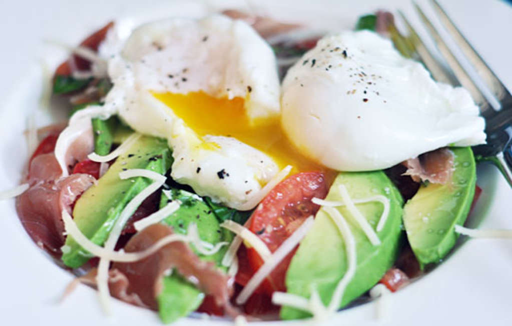 The Pleasures of a Breakfast Salad