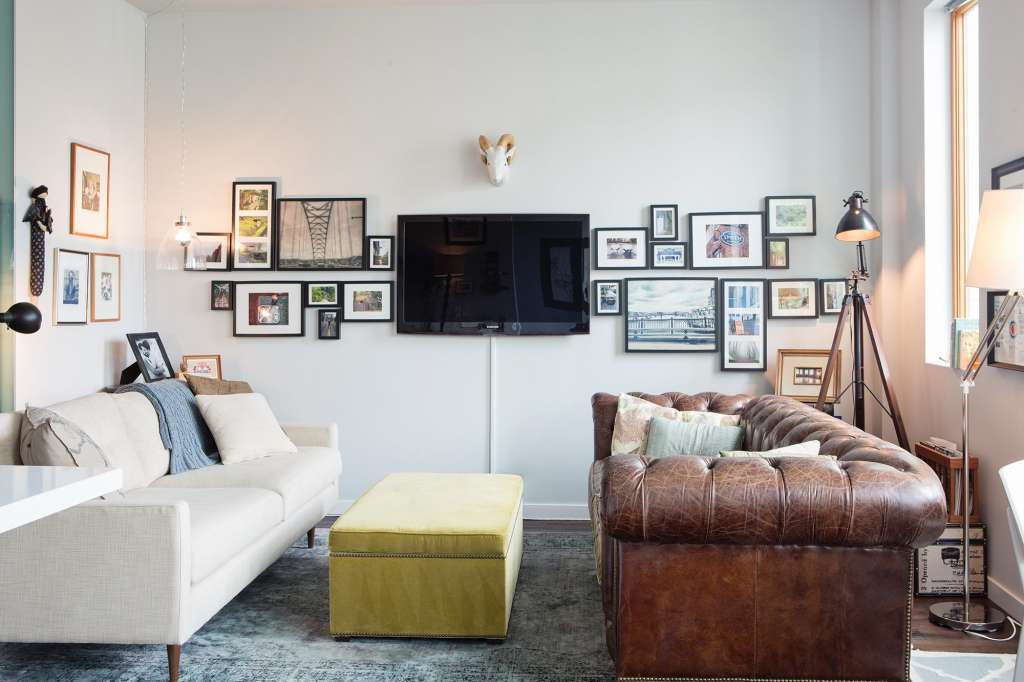 breathtaking small living rooms two sofas | Creative Ways to Rethink Your Living Room Layout ...