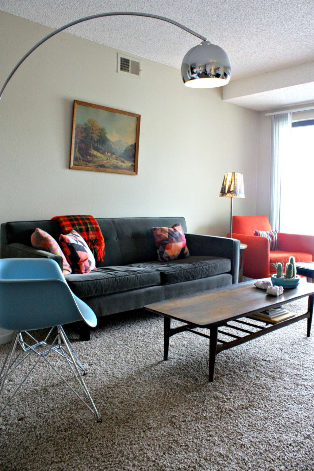 IKEA Hacks & Thrift Finds Personalize a Generic Denver Apartment