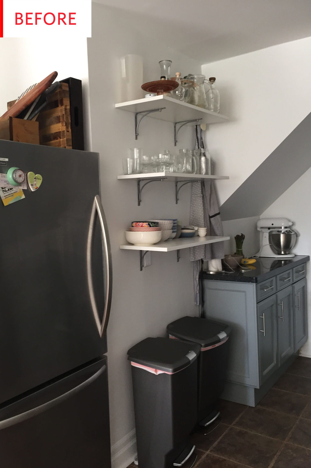 This $350 Kitchen Redo Is Filled with Smart Rental Tricks