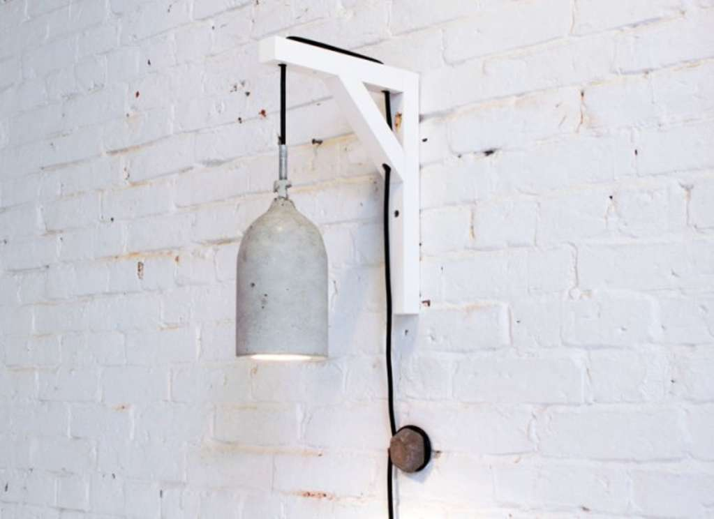 DIY Idea: Concrete Pendant Lamp
