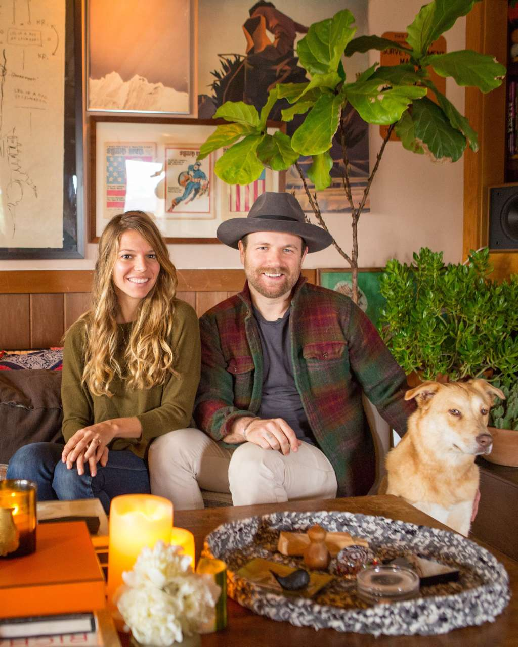 House Tour: A Warm and Woodsy California Home