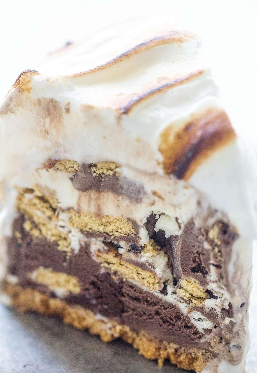 Recipe: S'mores Ice Cream Cake