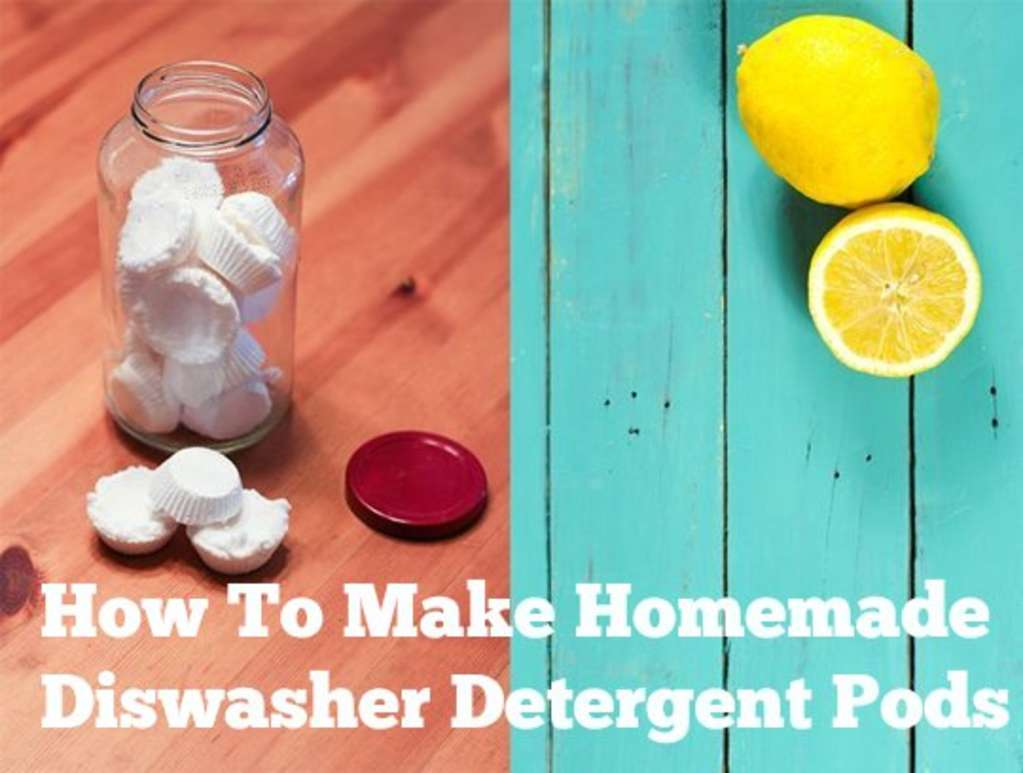 How To Make Homemade Dishwasher Detergent Pods