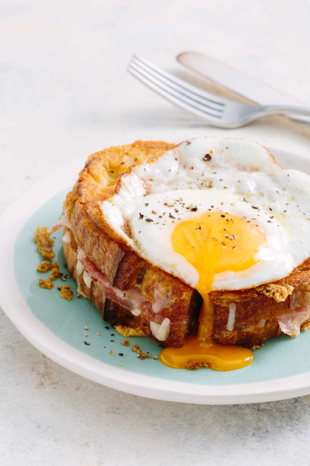 The Crispiest, Cheesiest, Frenchiest Croque Madame