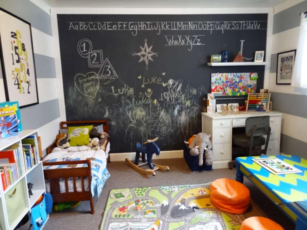 Luke's Revamped Room