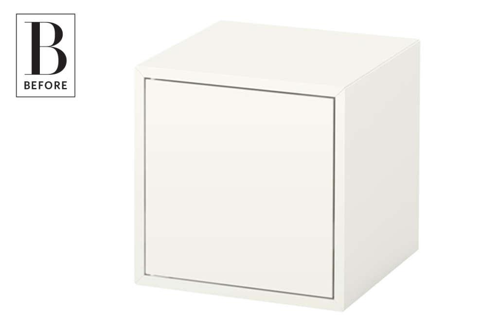 Ikea Hack Turn Eket Cabinets Into A Bar Cart Or Bedside
